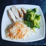 Eating clean and keeping lean. Don't forget the hot sauce though!!